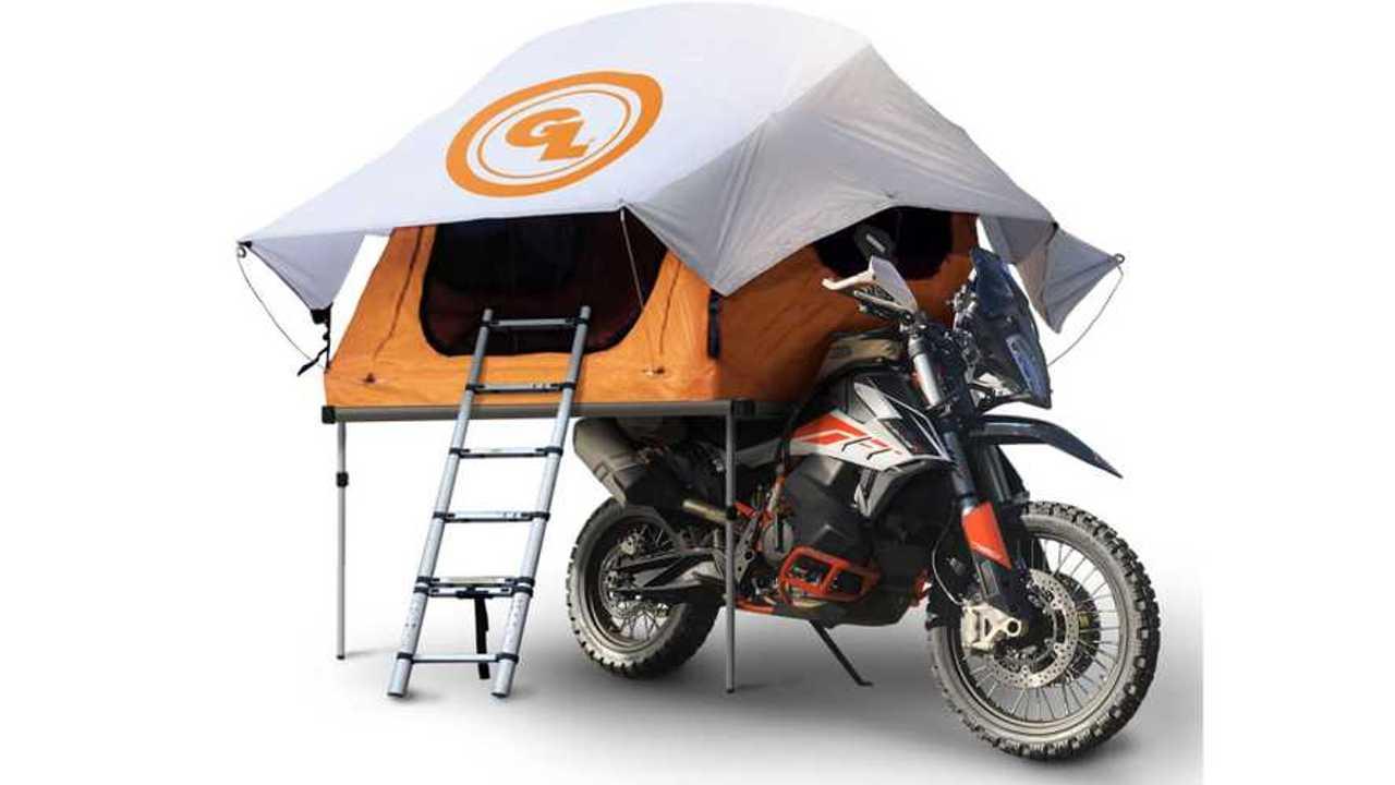 Giant Loop Motorcycle Tent (April Fool's)