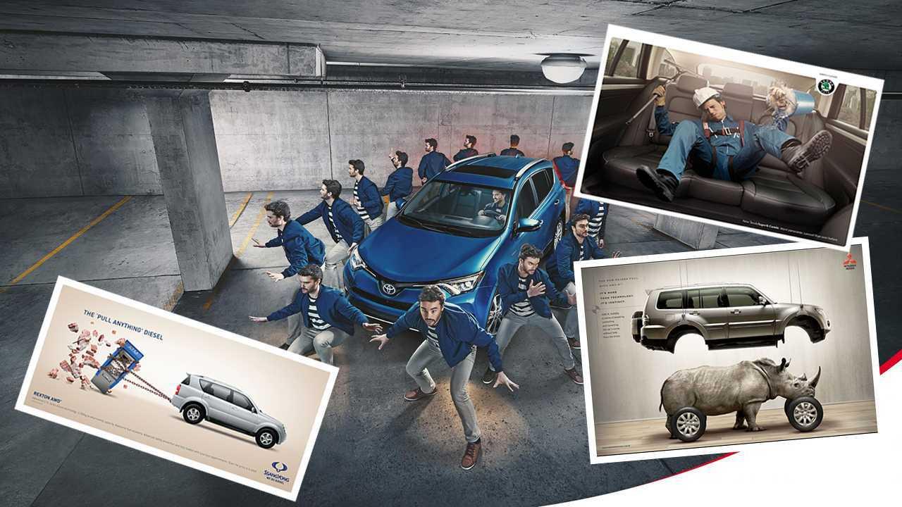 20 креативных автомобильных билбордов