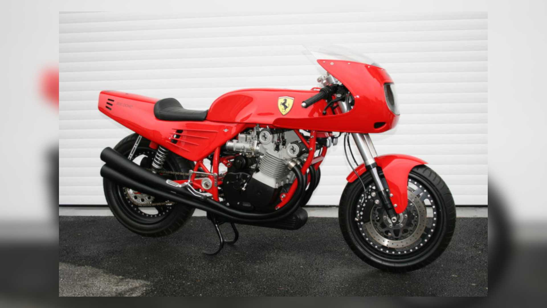 That Time Someone Made A Ferrari Motorcycle