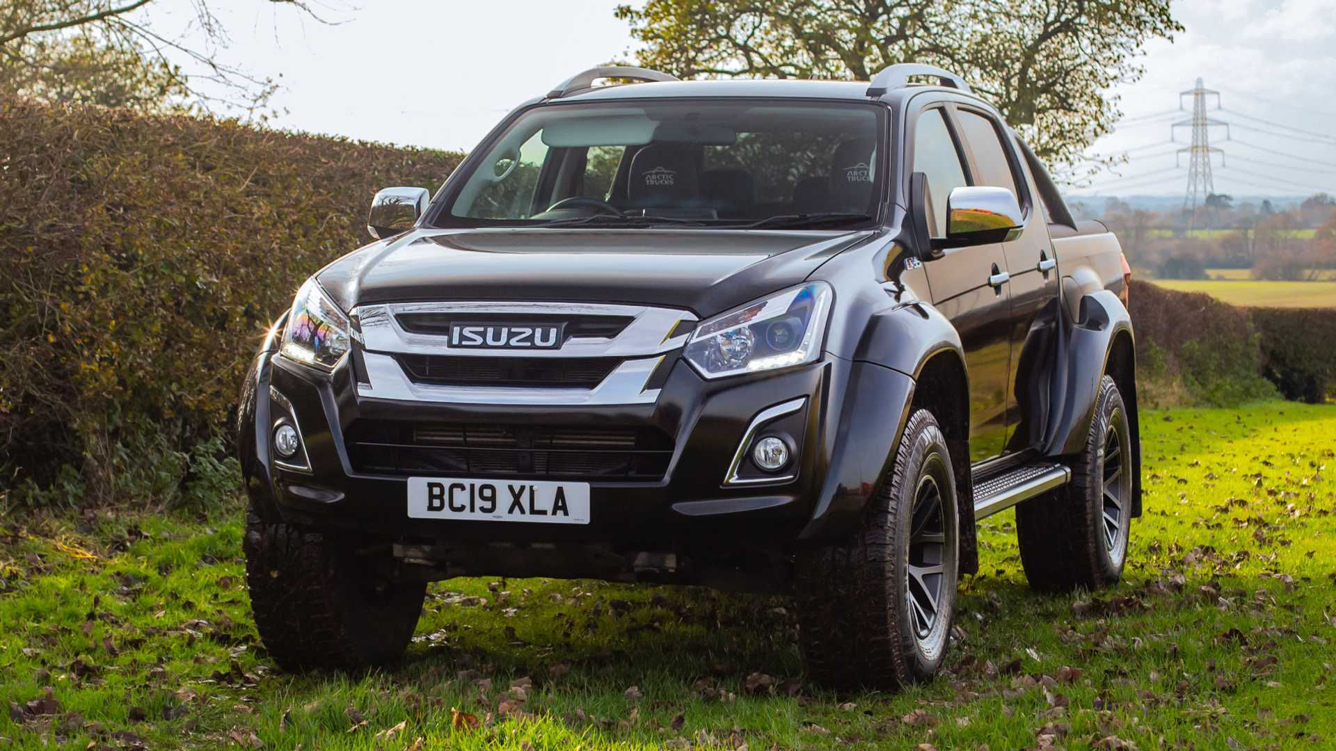 Updated Isuzu D-Max Arctic Trucks AT35 priced from £39,995 plus VAT