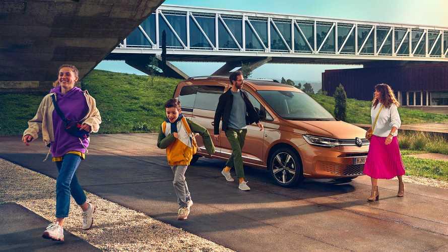Volkswagen рассекретил совершенно новый Caddy