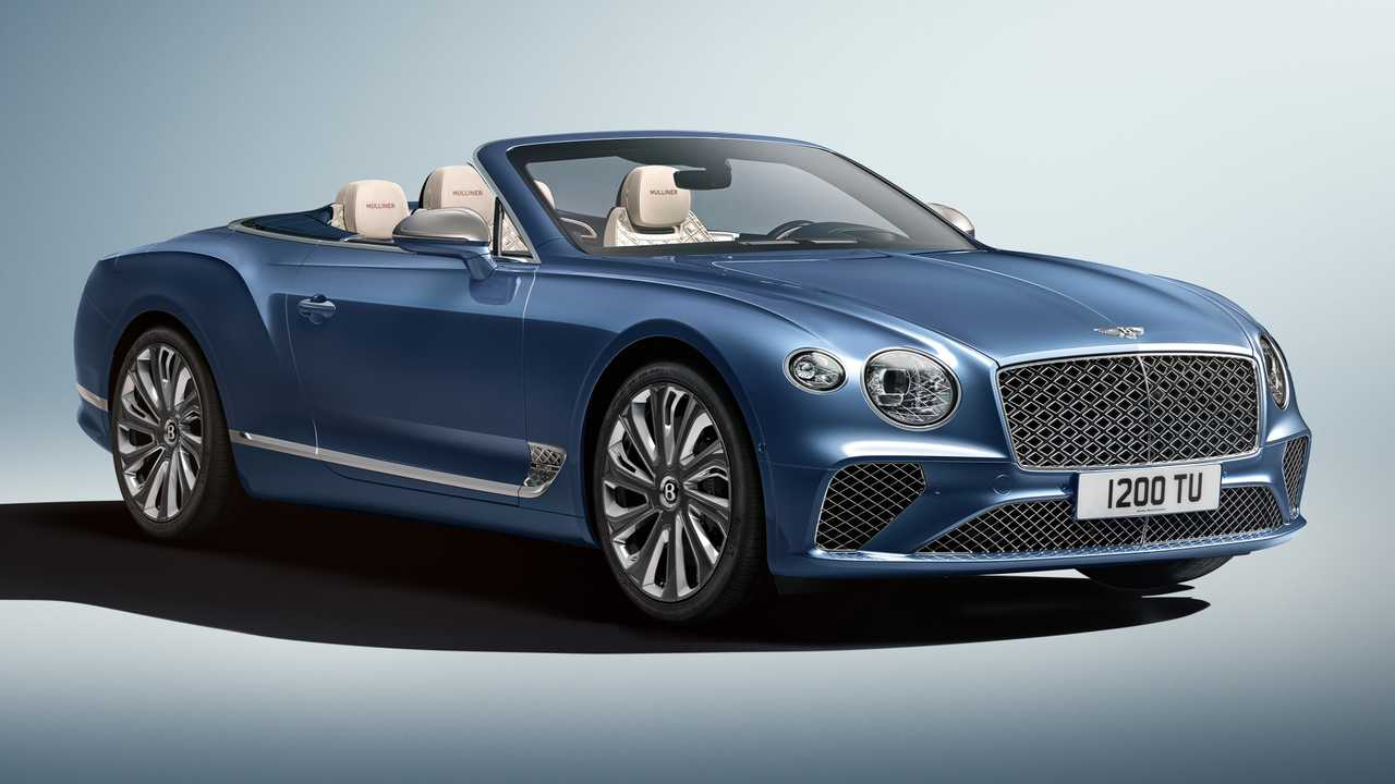 Bentley Continental GT Mulliner Convertible Arrives As Opulent Droptop