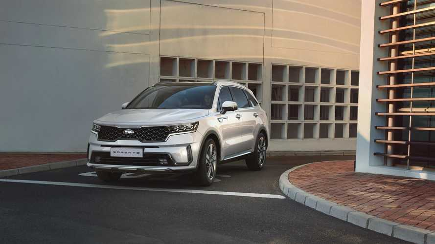 All-New Kia Sorento (European, ICE and HEV)