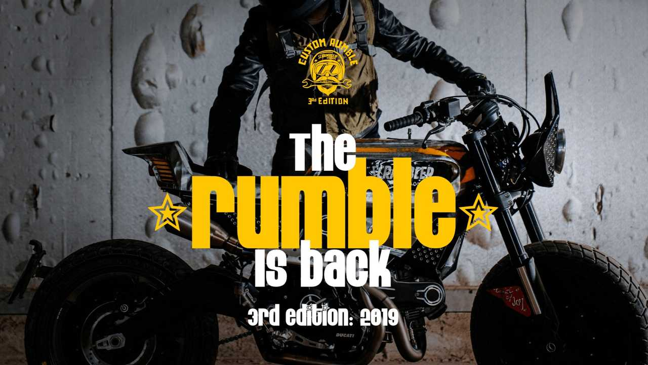 Ducati Custom Rumble Is Back