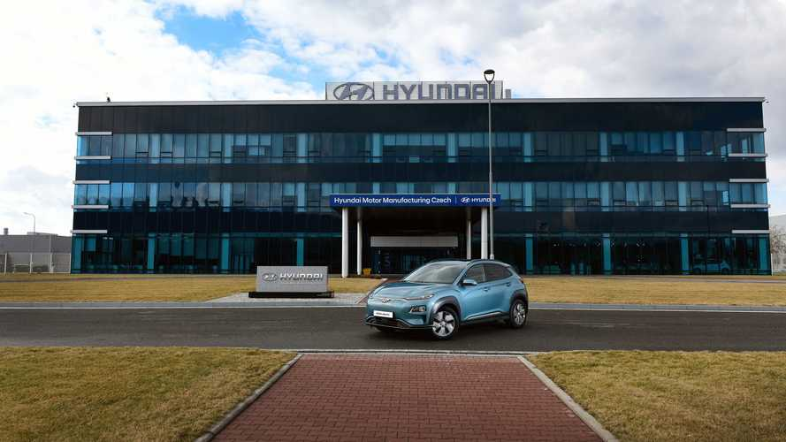 Hyundai Kona Electric production the Czech Republic