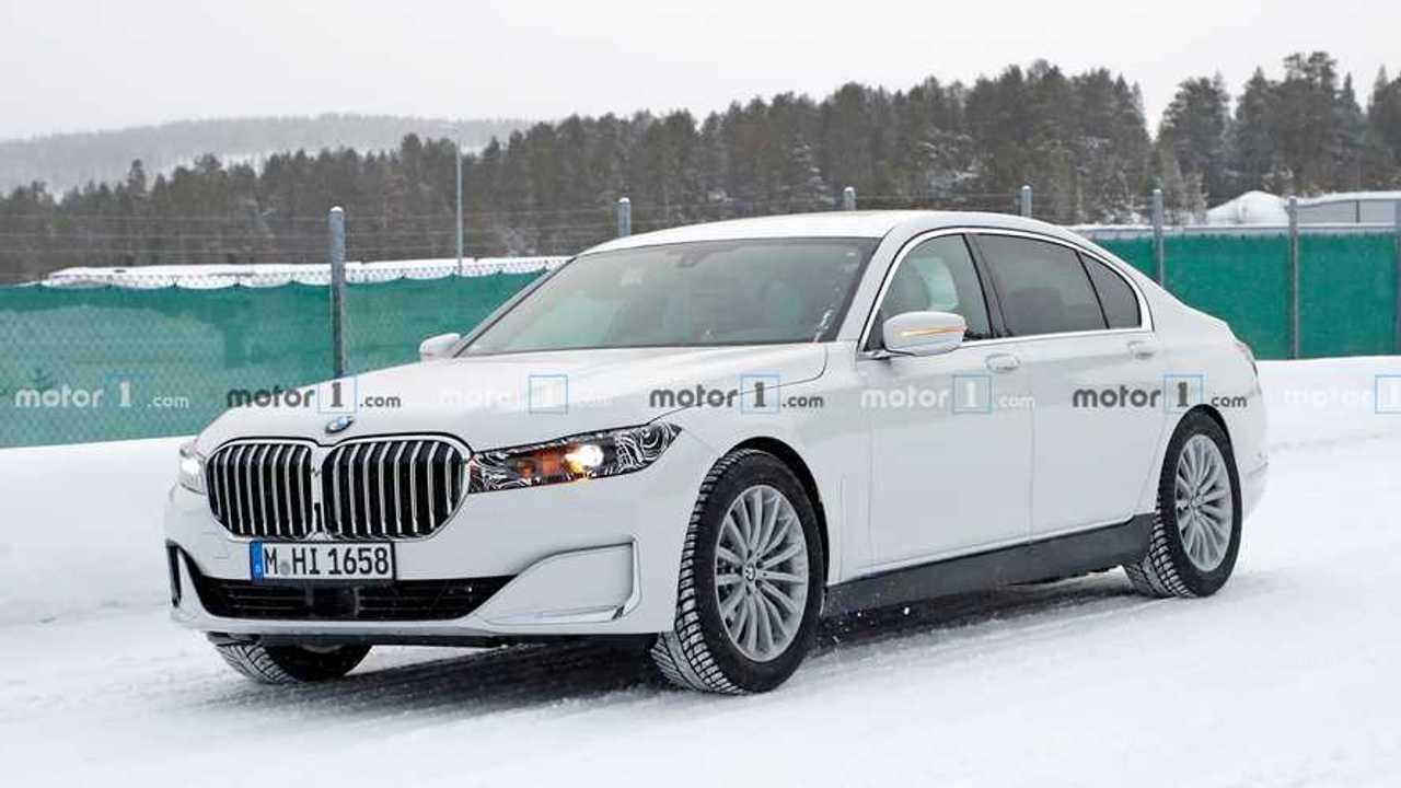 2022 BMW 7 Serisi yeni casus fotoğraflar