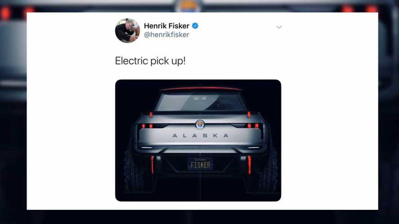 Fisker Alaska Truck Teaser