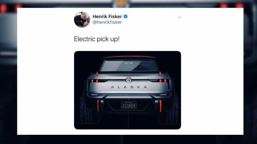 Fisker's first electric pickup could be called 'Alaska'