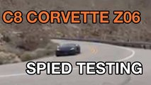 Chevrolet Corvette Z06 Spy Video