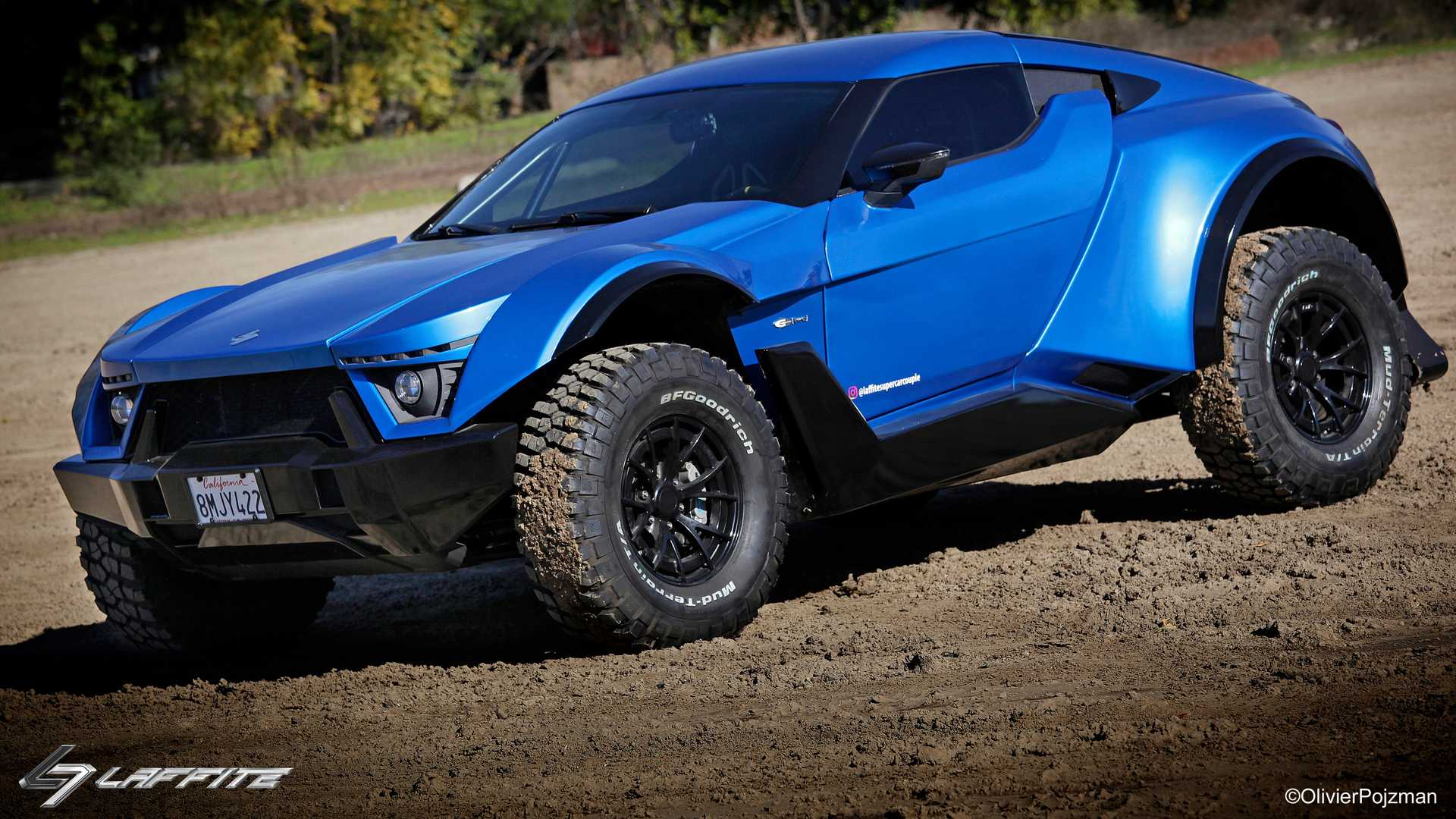 Laffite G-Tec X-Road packs up to 720 bhp and loves getting dirty