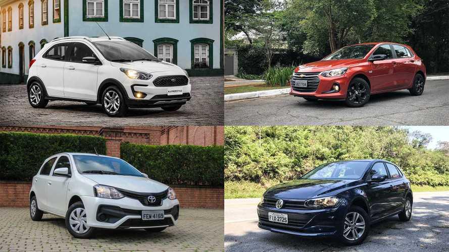 Os 10 carros com controle de estabilidade (ESP) mais baratos do Brasil