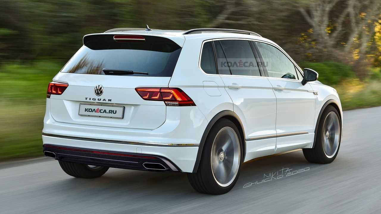2021 VW Tiguan rendering | Motor1.com Fotos