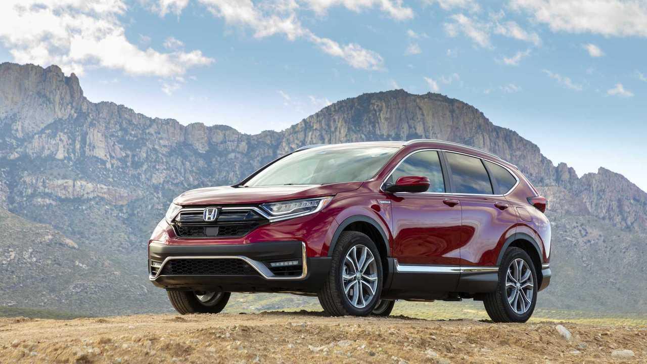 2020 Honda CR-V Hybrid: Drive Pertama
