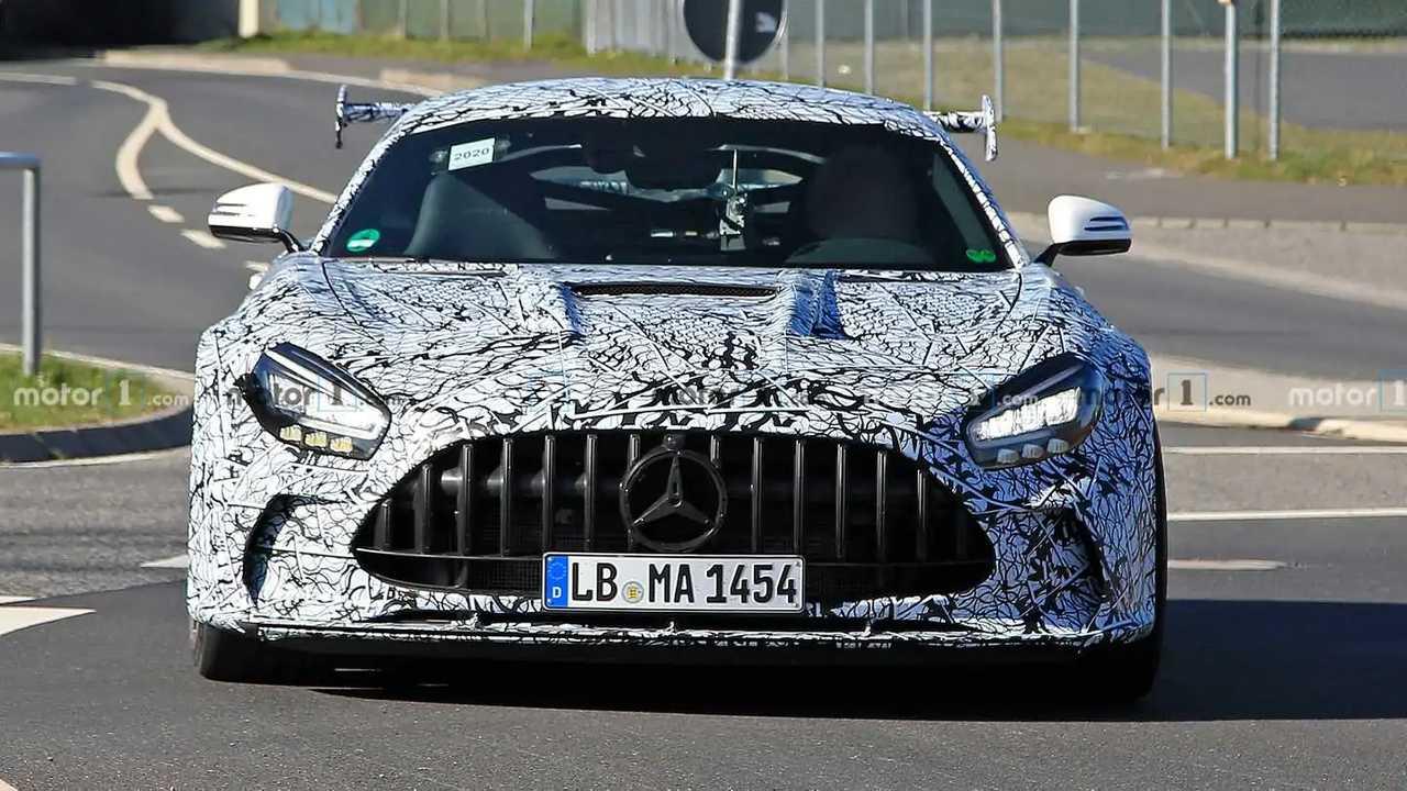 Photo espion Mercedes-AMG GT Black Series
