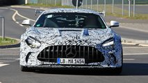 2021 Mercedes-AMG GT Black Series new spy photos