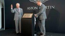 Prince Charles visits Aston Martin Lagonda St Athan