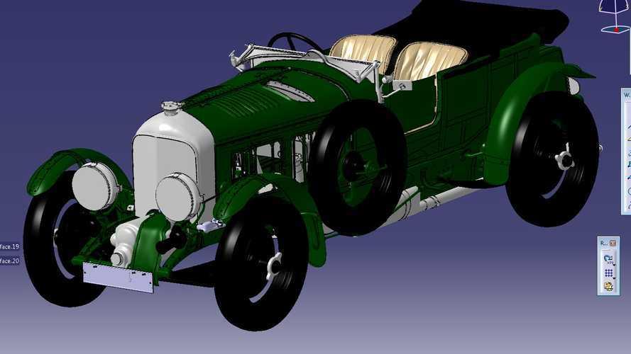 Bentley Blower digital model