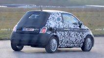 Fiat 500e, fotos espía