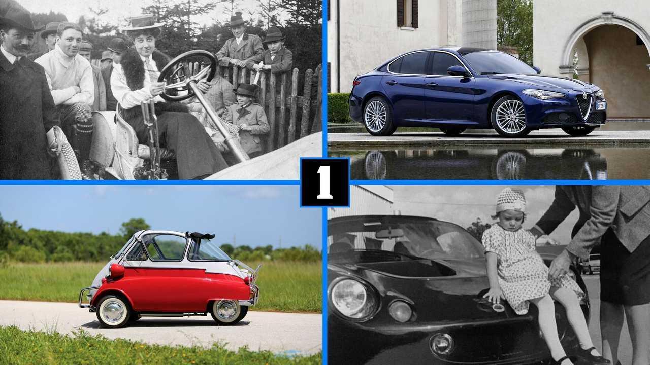 8 машин с женскими именами