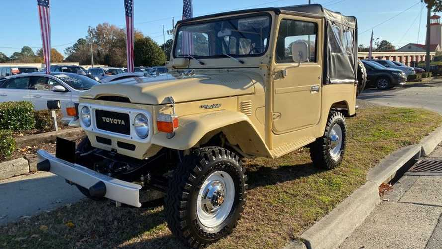 Go Anywhere In This Restored 1980 Toyota FJ40