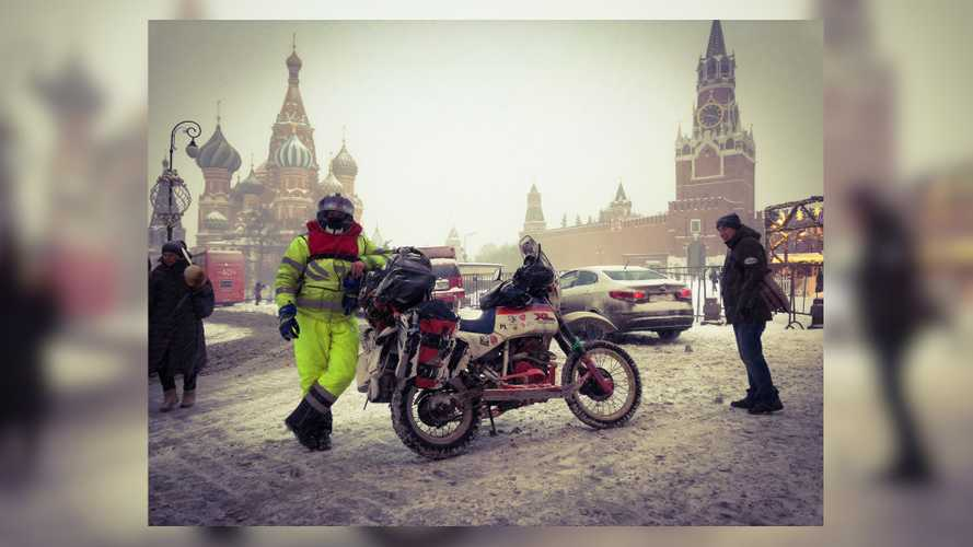 This Guy Is Riding To Siberia In January 2020 Because He Can