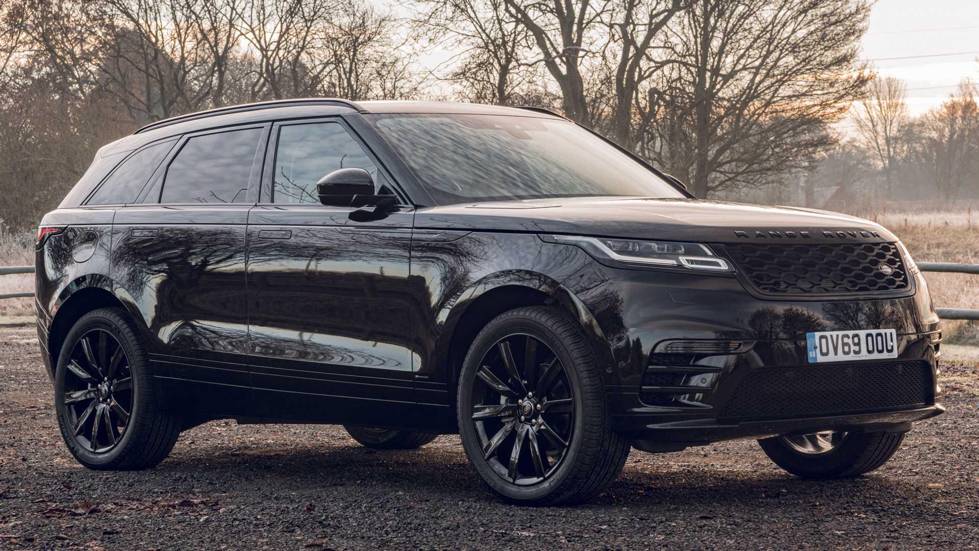Range Rover adds limited Velar R-Dynamic Black edition for UK