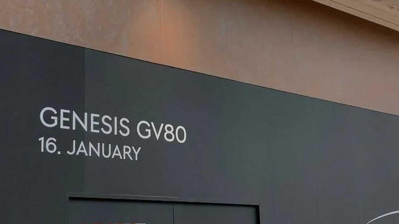 Genesis GV80 Debut