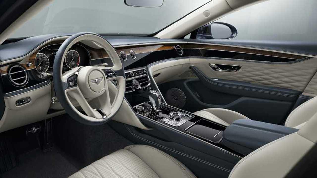 Bentley Flying Spur 2020, interior
