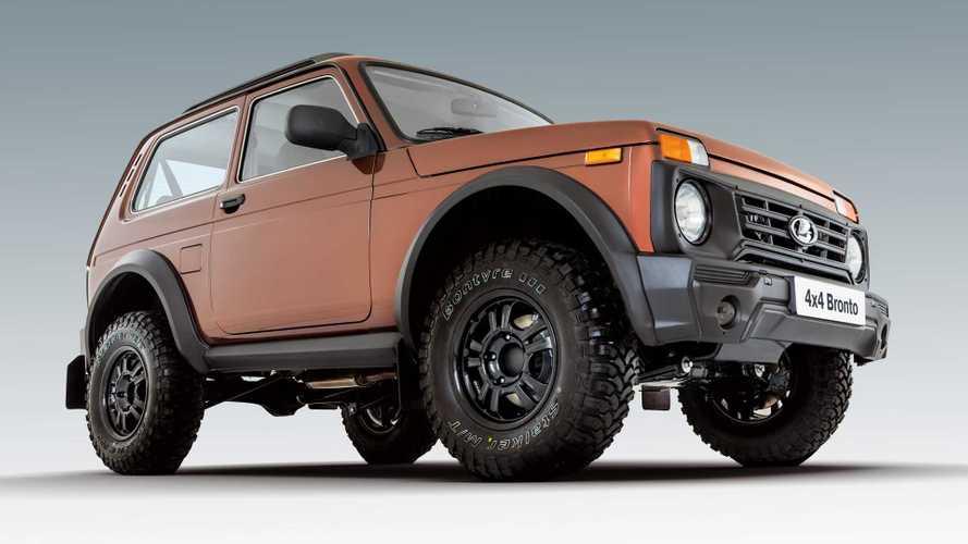 В Германию доставили 9 штук Lada 4x4 странного происхождения