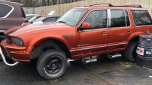 Ford Explorer With A Mustang Front End