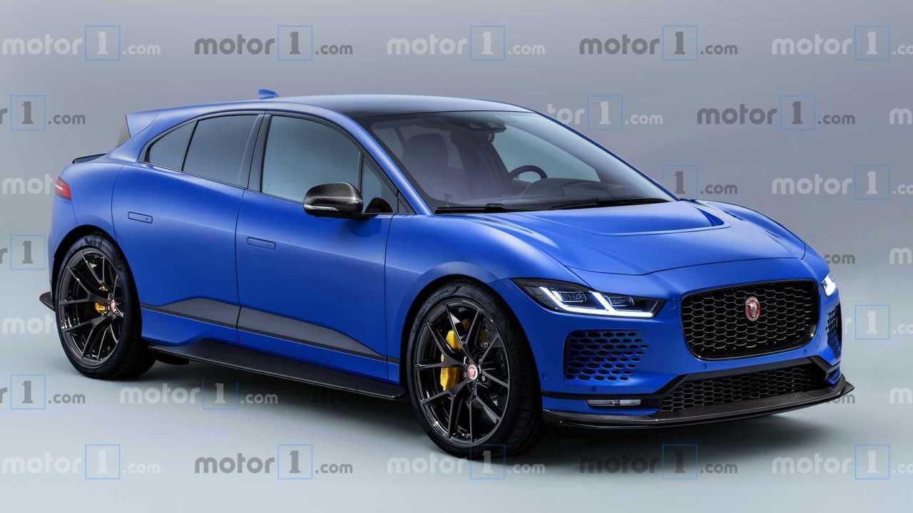 2021 Jaguar I-Pace SVR