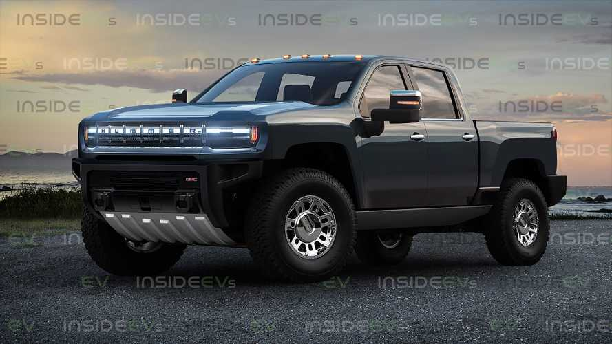 Hummer Electric Pickup Isn't GM's First Attempt At An Electric Truck