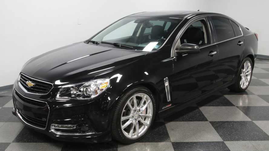 Smoke 'Em With This 2014 Chevy SS Hennessey HPE600 Supercharged