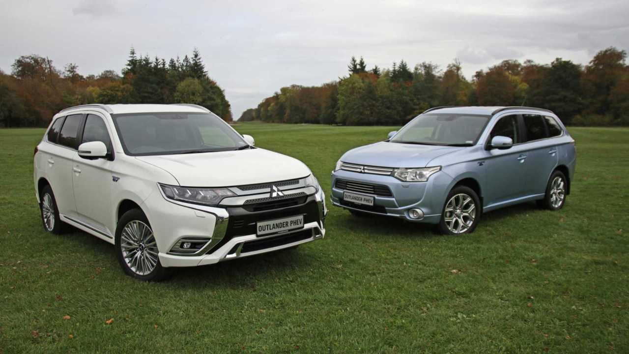 Mitsubishi Outlander PHEV reaches 50,000 UK registrations