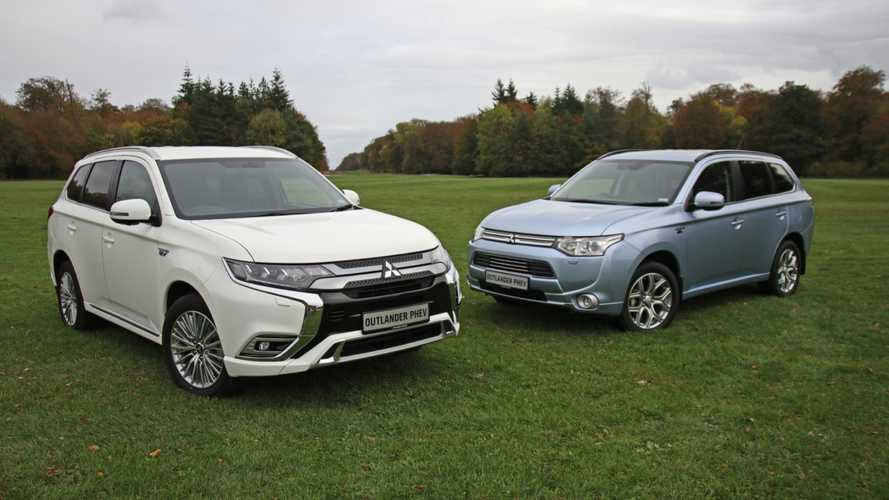 Mitsubishi Outlander PHEV reaches 50,000 UK registrations