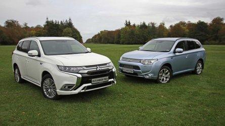 Mitsubishi Outlander PHEV Racks Up 50,000 UK Sales