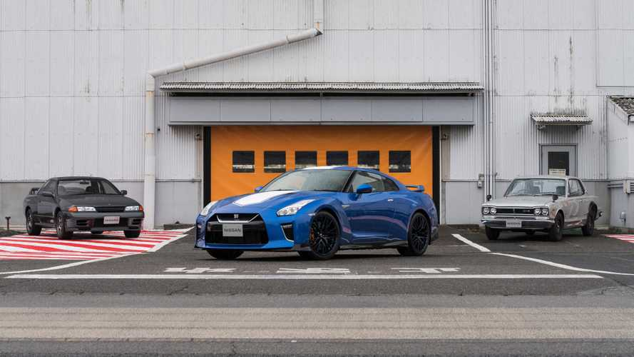 Nissan Marks 50 Years Of The GT-R