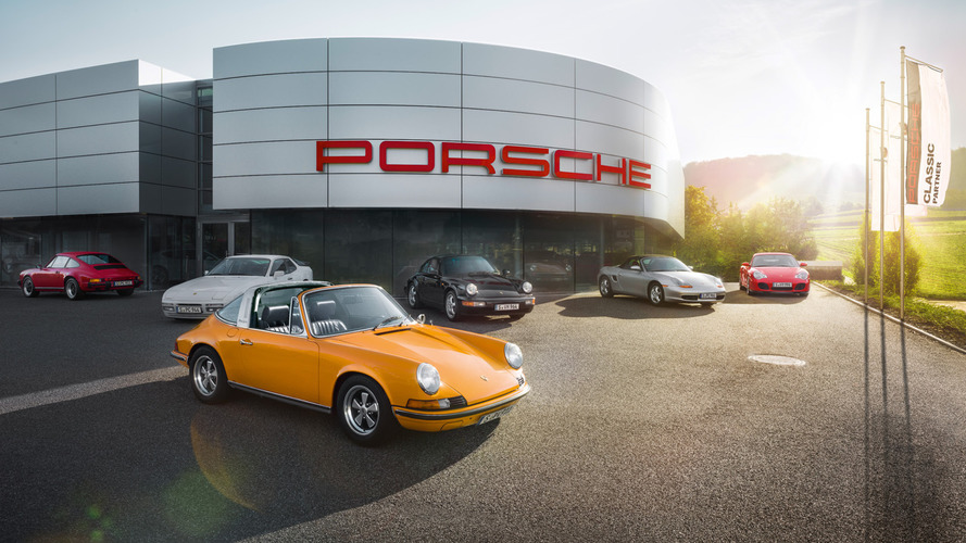 Porsche opens the first Porsche Classic Centre