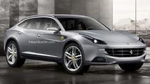 Ferrari FX SUV render