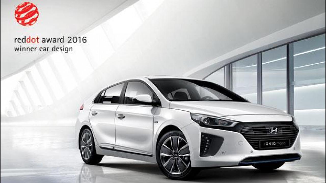 [Copertina] - Hyundai Ioniq, estetica premiata con il Red Dot Design Awards