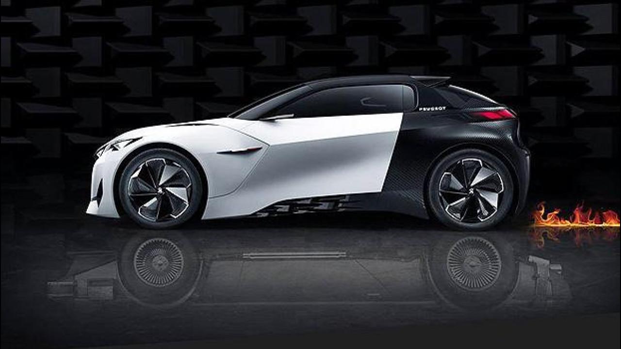 [Copertina] - Ritorno al Futuro, Peugeot omaggia il film con la Fractal