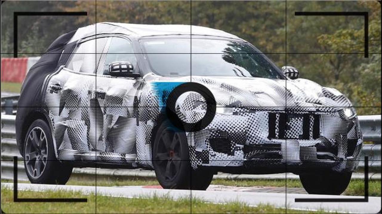 [Copertina] - Maserati Levante, foto spia al Nurburgring