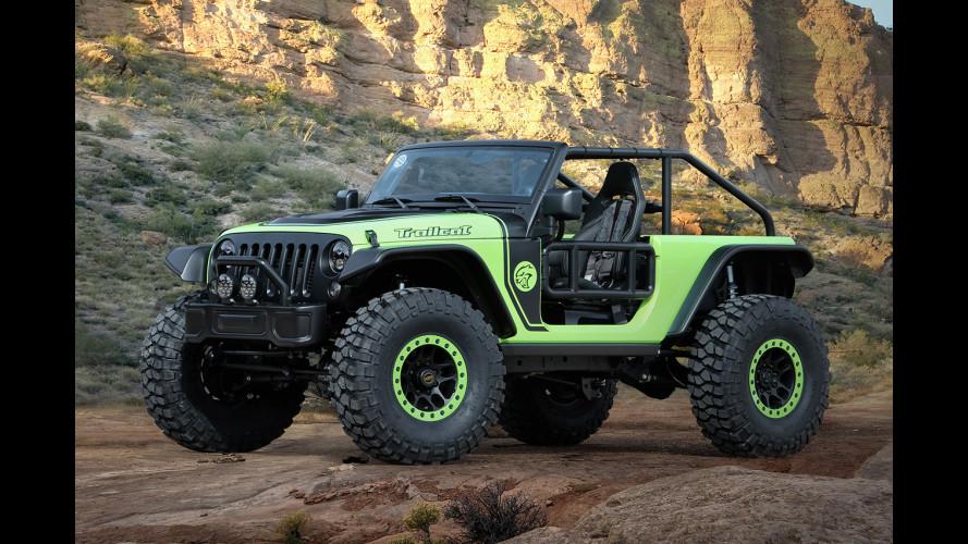 Jeep Trailcat, la Wrangler da 717 CV