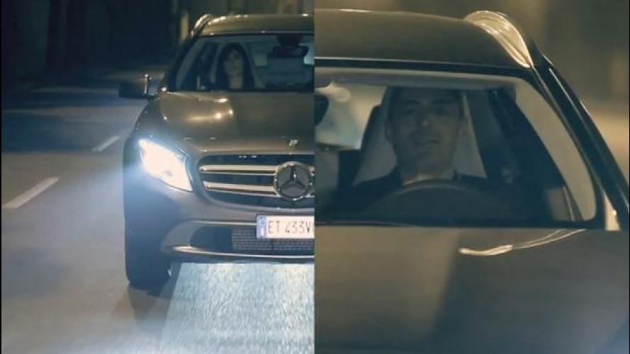 Mercedes GLA protagonista nel video di Alex Britti e Bianca Atzei