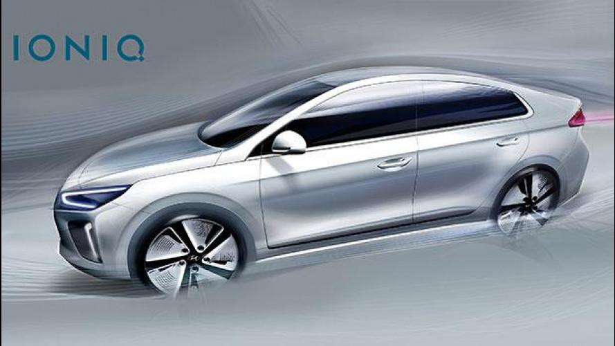 Hyundai IONIQ, ecco come sarà fuori e dentro