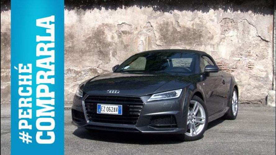 Audi TT Roadster (2015) Perché comprarla... e perché no [VIDEO]