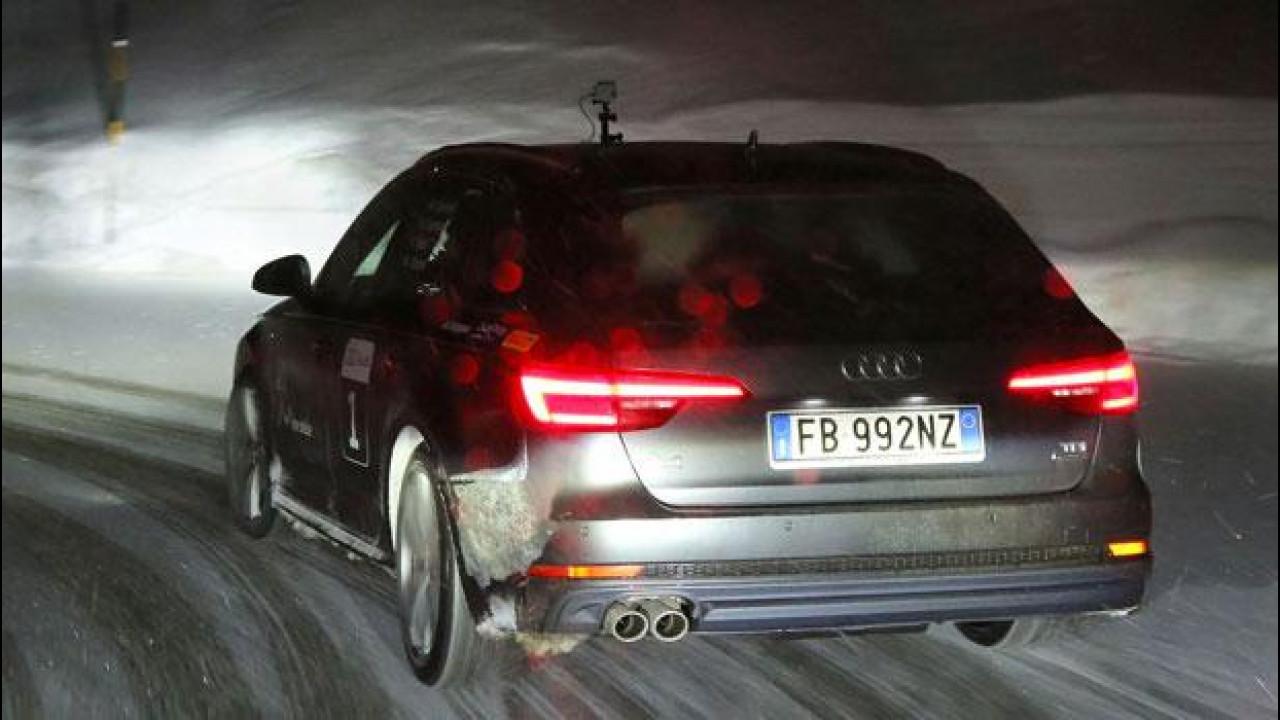 [Copertina] - Audi A4 Avant, la nostra 20quattro ore delle Alpi in notturna [VIDEO]