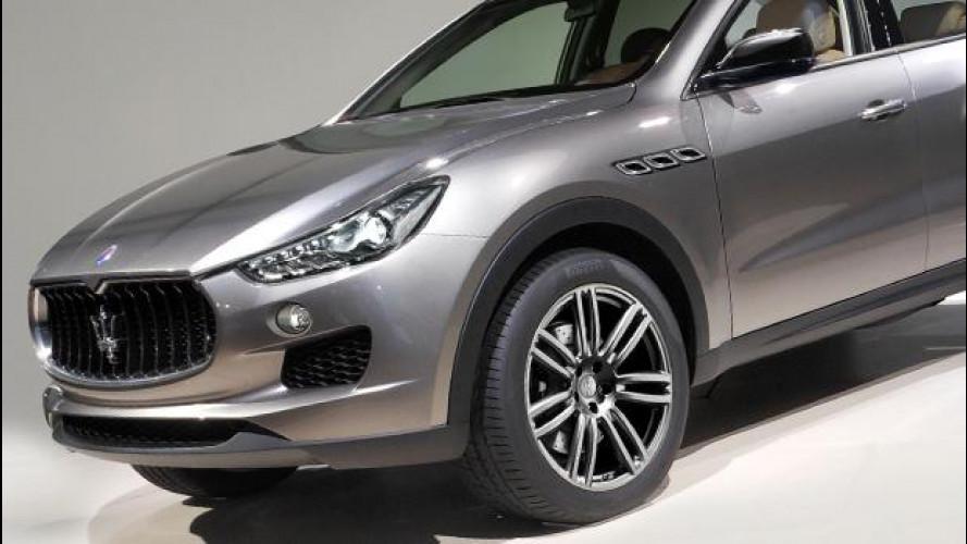 Maserati, vendite stazionarie in attesa della Levante
