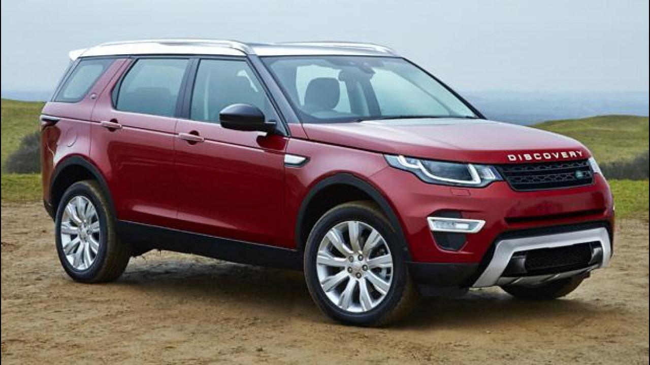 [Copertina] - Land Rover Discovery, la rivoluzione arriva nel 2017