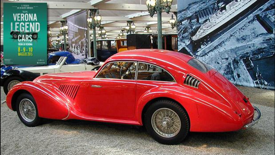 Verona Legend Cars, capolavori in mostra